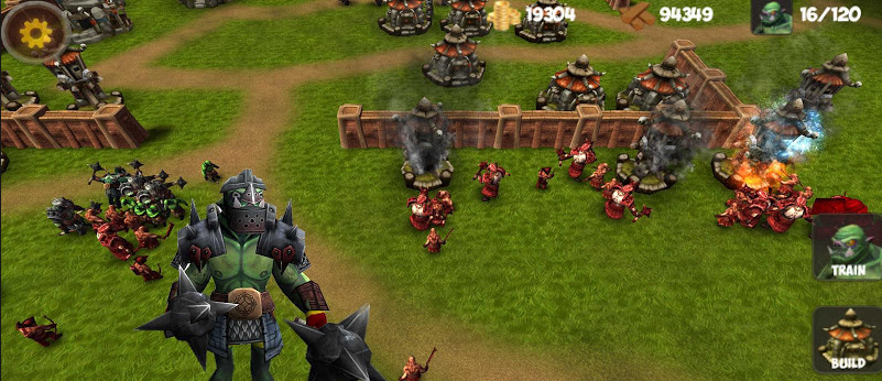 alternatives for warcraft 2 3 or command conquer on ios